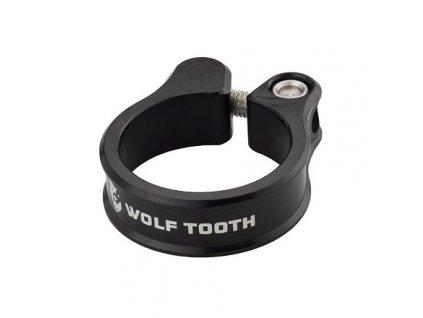 WOLF TOOTH sedlová objímka 31.8mm černá
