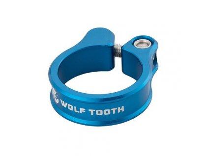 WOLF TOOTH sedlová objímka 31.8mm modrá