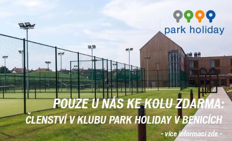 Dárek ke kolu: členství v Park Holiday Benice