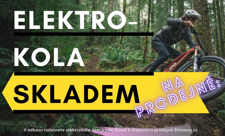 Elektrokola skladem v Bikeway.cz