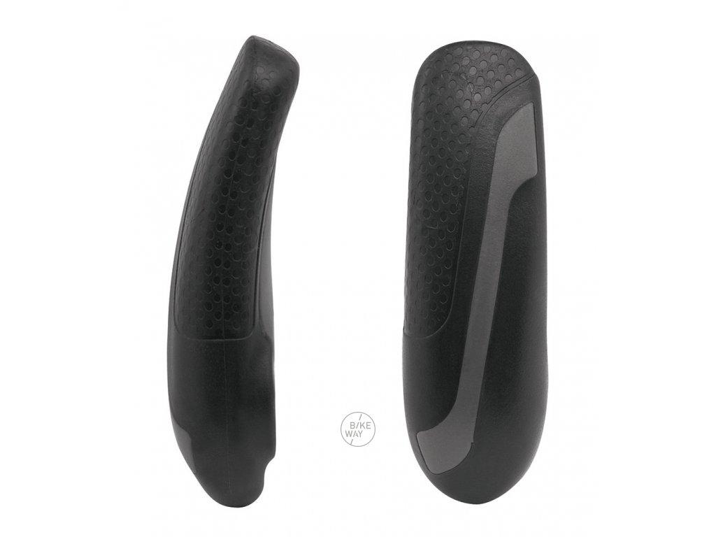 Rohy FORCE KRATON Al šedo-černé 11,3 cm