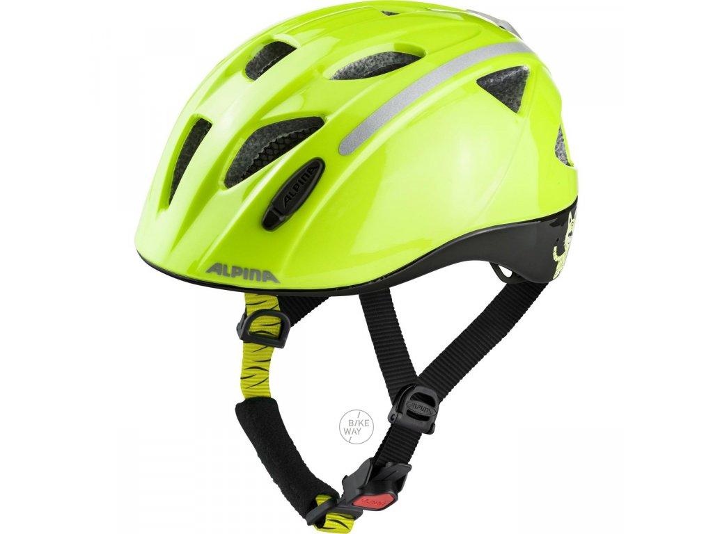 Dětská cyklistická přilba Alpina Ximo Flash be visible reflective