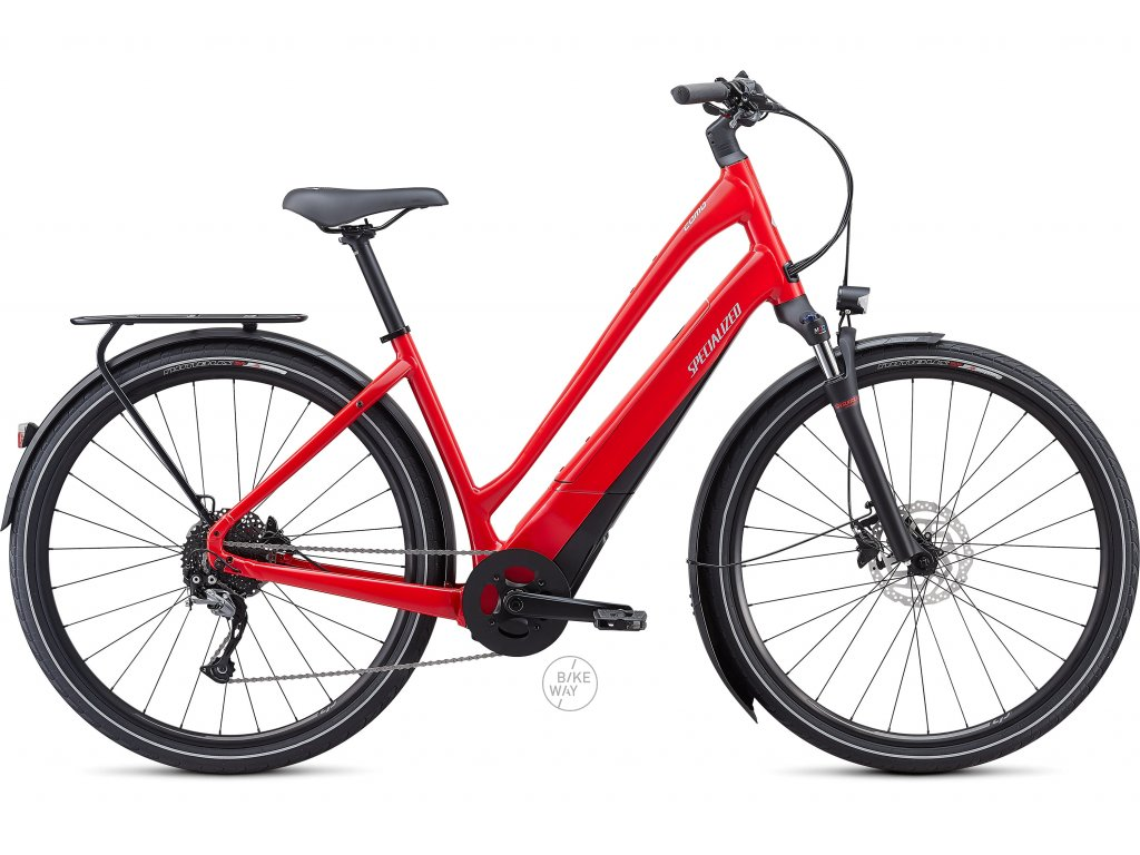 Elektrokolo Specialized Turbo COMO 3.0 LOW ENTRY 700C 2020 červené