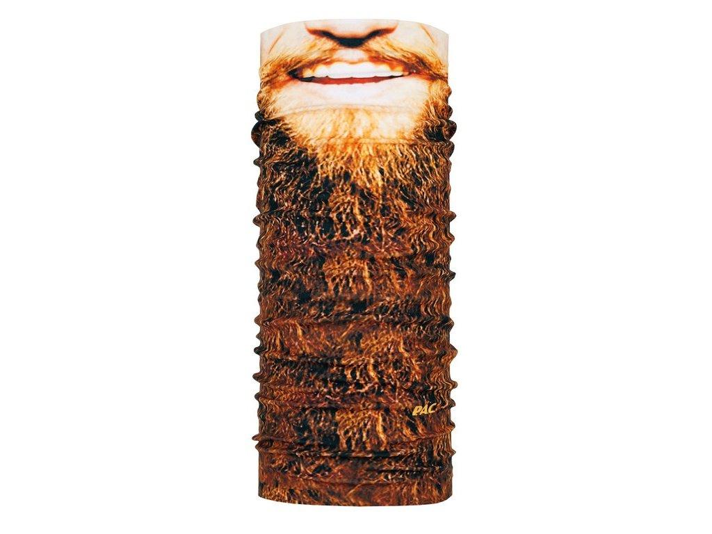 Multifunkční cyklistický šátek na kolo P.A.C. Original Beard 8810 281