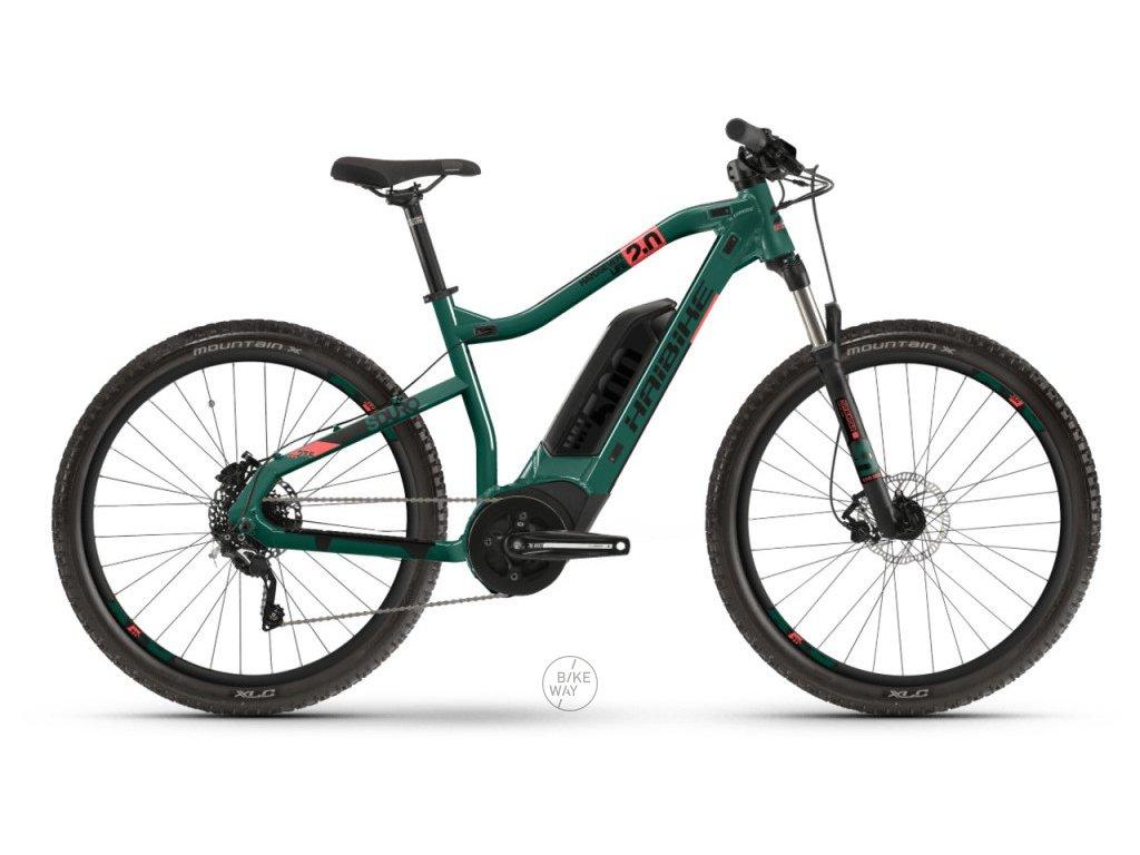 Dámské horské elektrokolo Haibike SDURO HardSeven Life 2.0 2020 Bosch 500 Wh