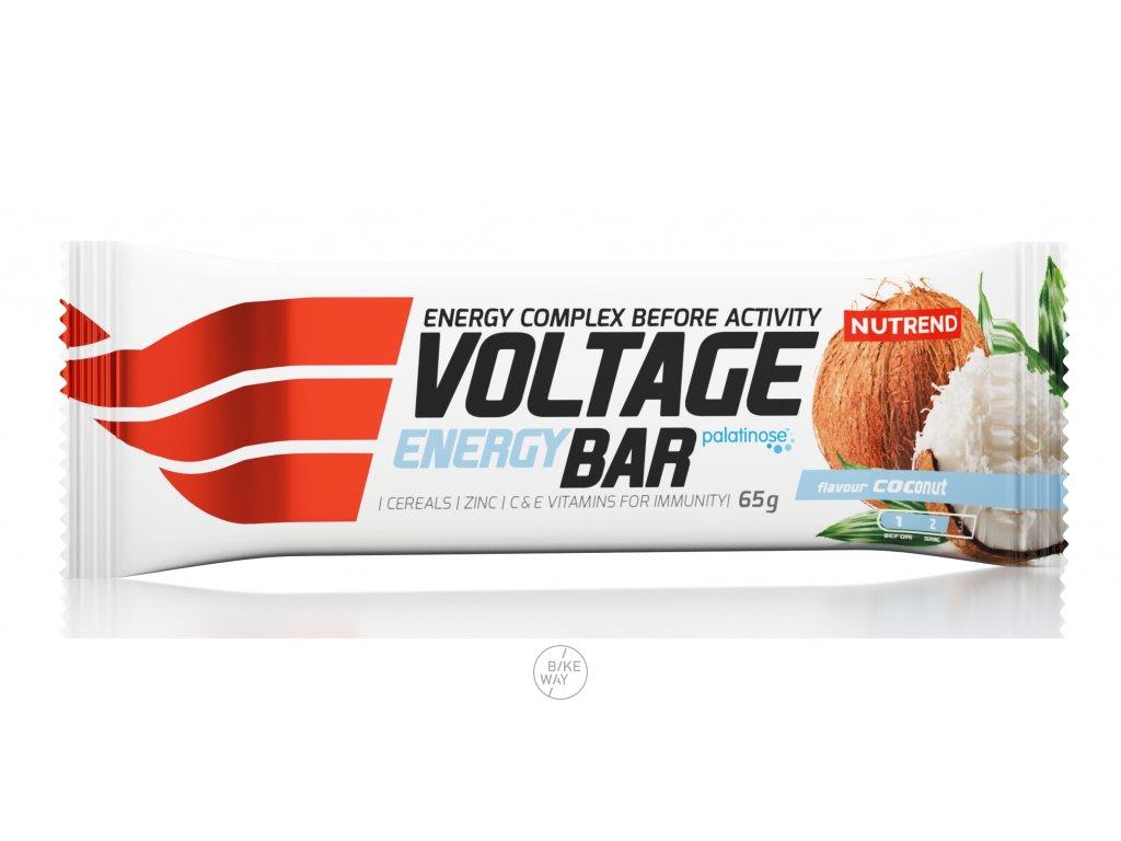 tyčinka VOLTAGE ENERGY BAR 65g kokos