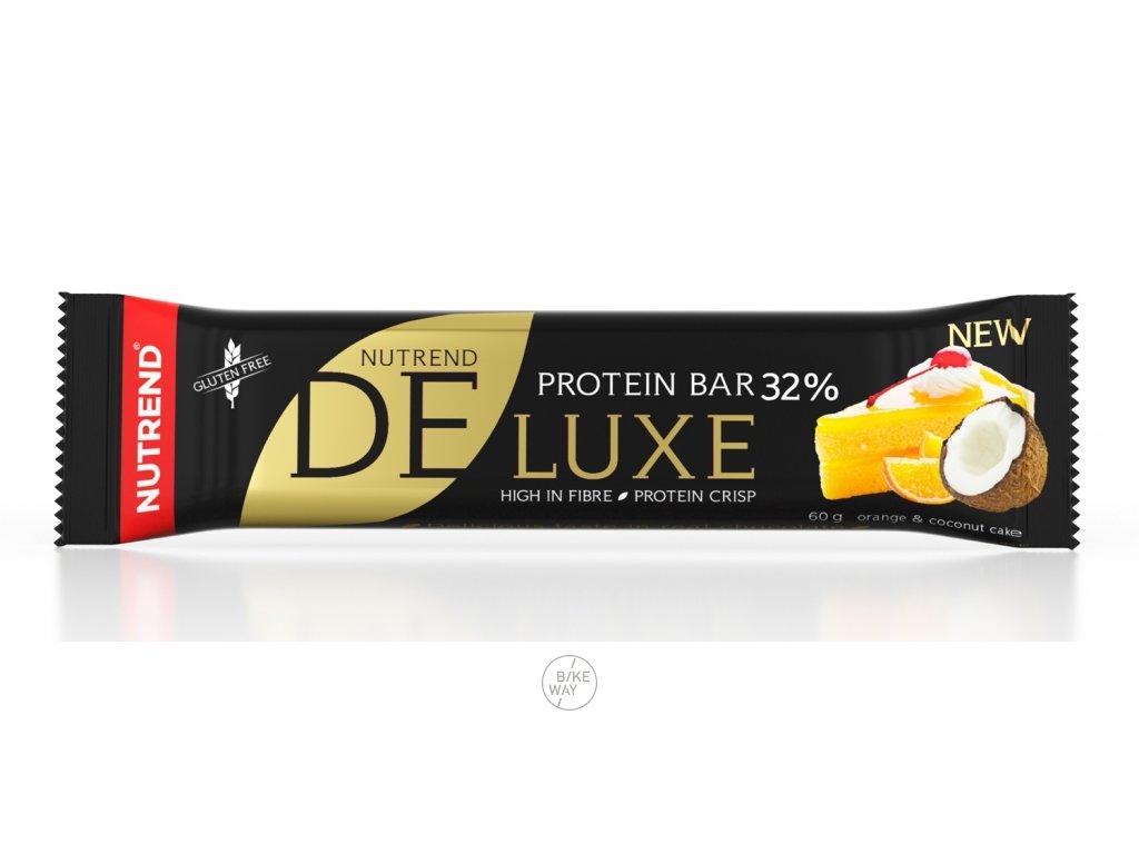 tyčinka DELUXE 60g pomerančovo-kokosový koláč