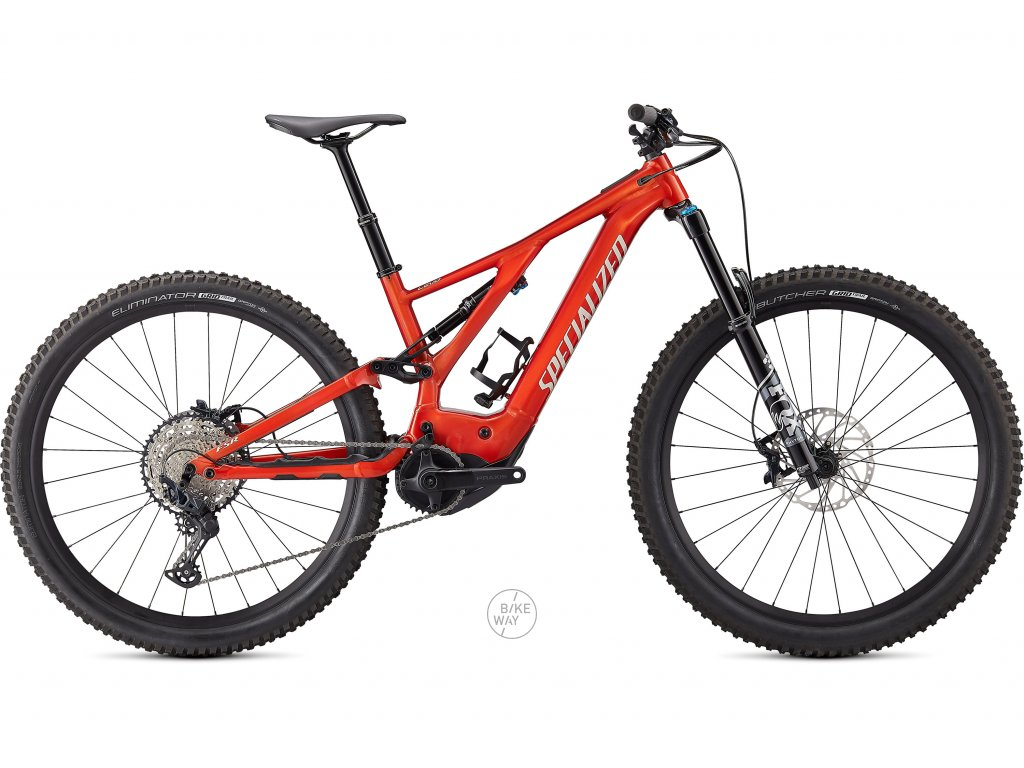 Celoodpružené elektrokolo Specialized Turbo LEVO COMP 29 2021 Redwood 1