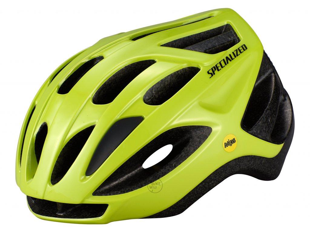 Cyklistická přilba Specialized ALIGN MIPS hyper green