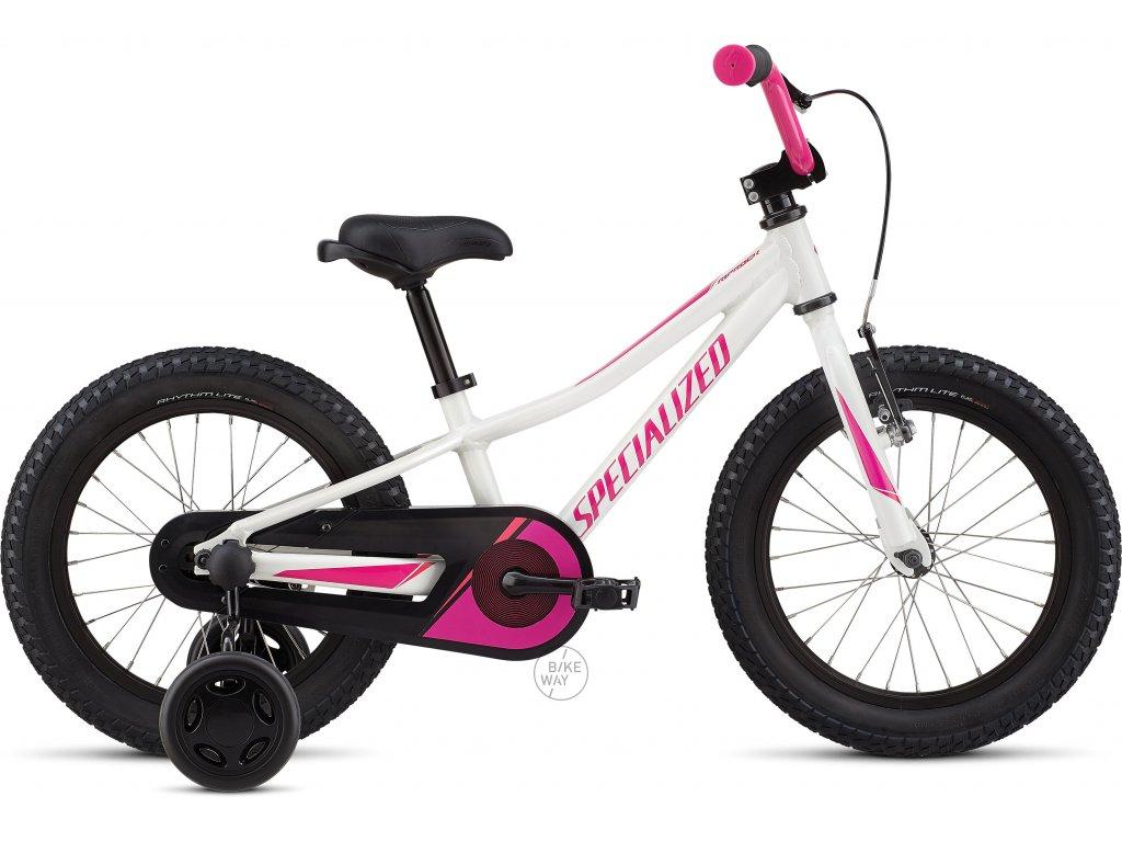Dětské kolo Specialized Riprock Coaster 16 2020 bílé růžové
