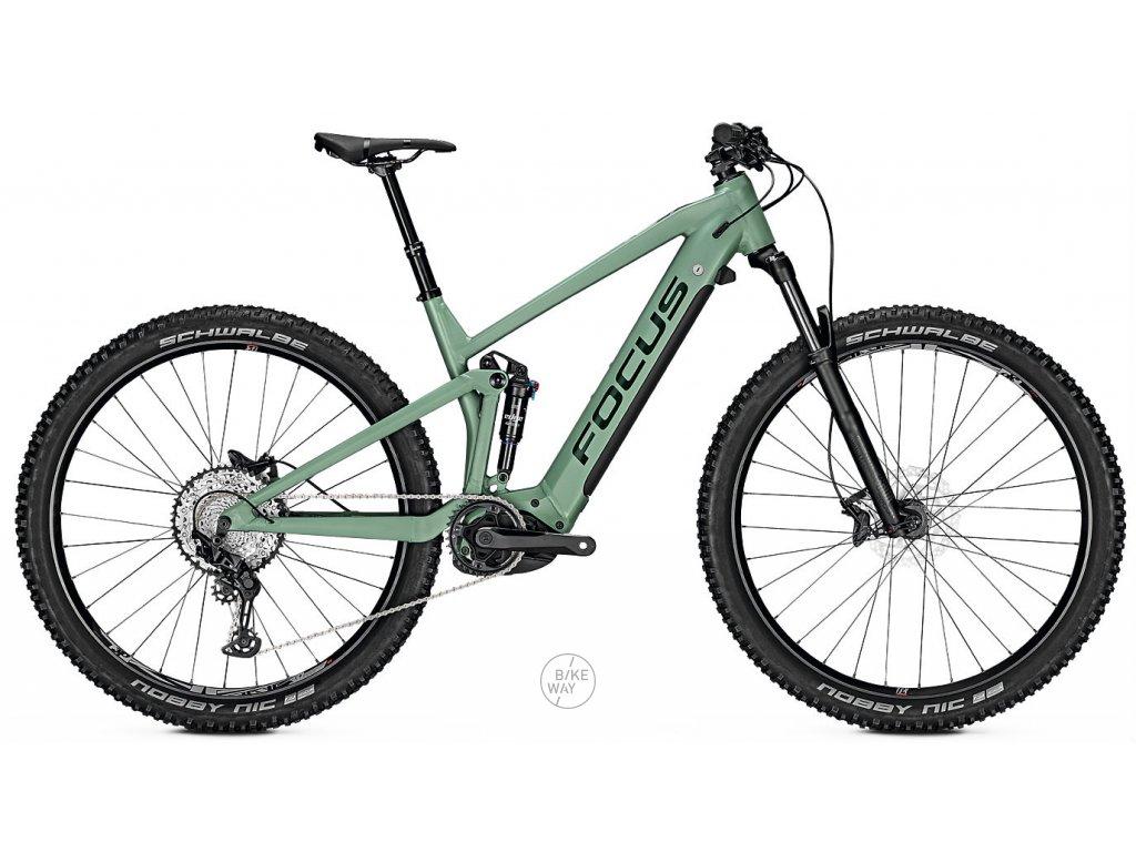 Celoodpruzene elektrokolo FOCUS THRON2 6 8 2020 zelene Bosch 625 Wh