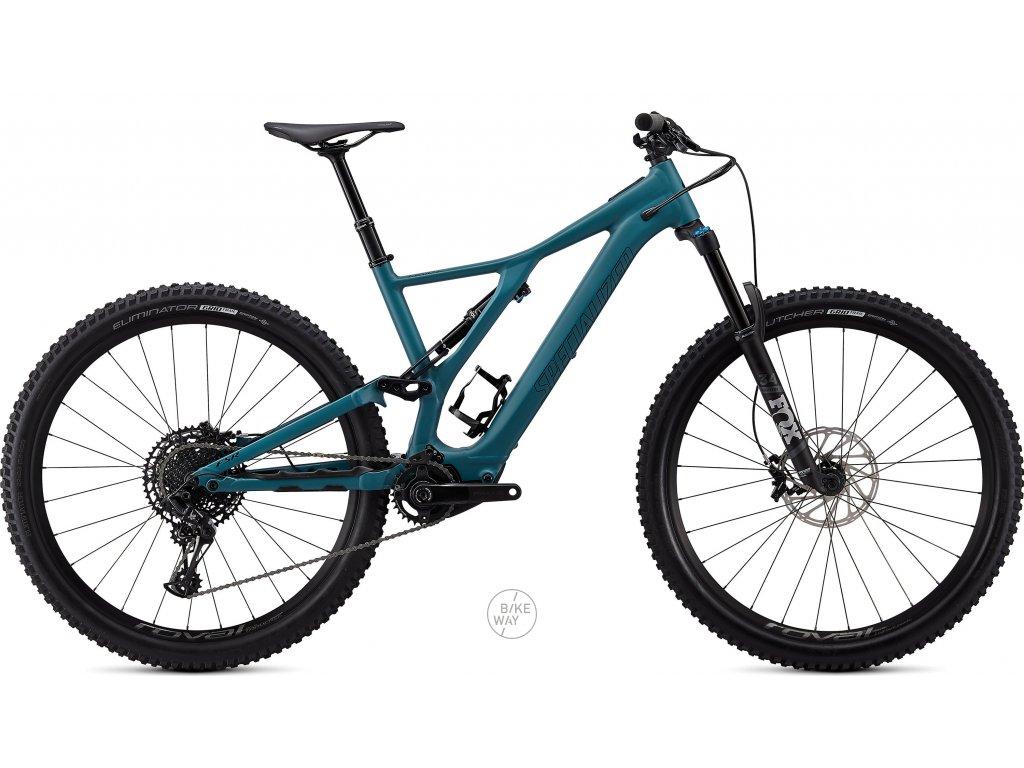 Celoodpružené elektrokolo Specialized Turbo LEVO SL COMP 2020 turquoise černá