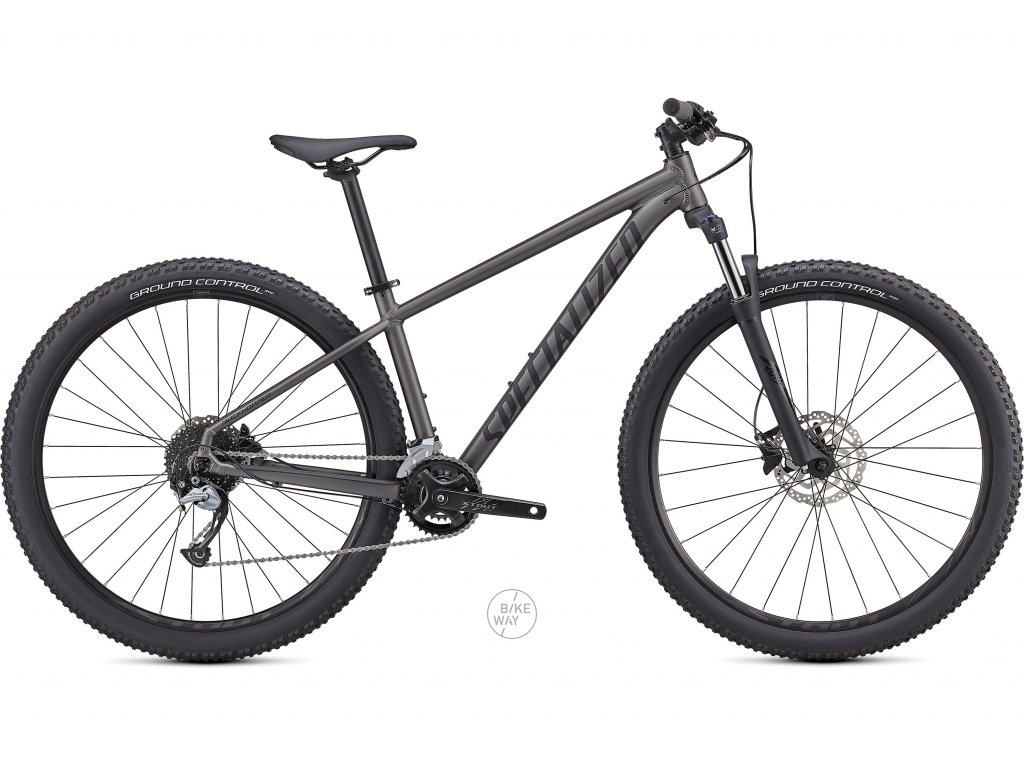 Horské kolo Specialized ROCKHOPPER COMP 2X 27,5 2021 satin smoke black