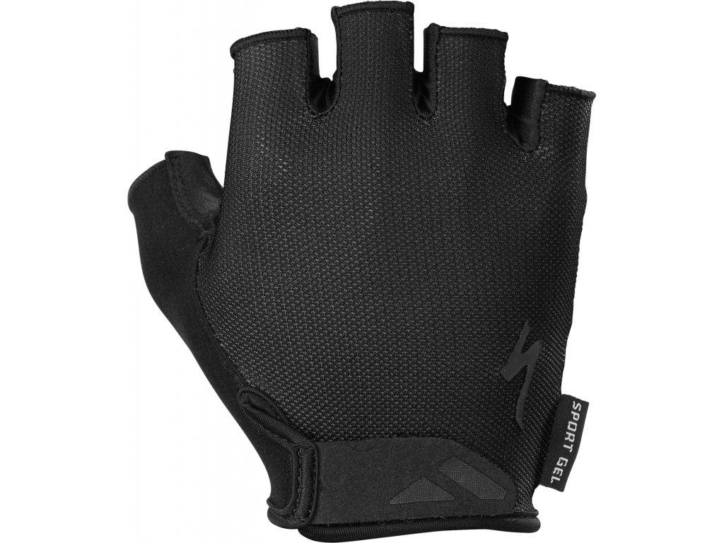 Pánské cyklistické rukavice Specialized Men's Body Geometry Sport Gel černé