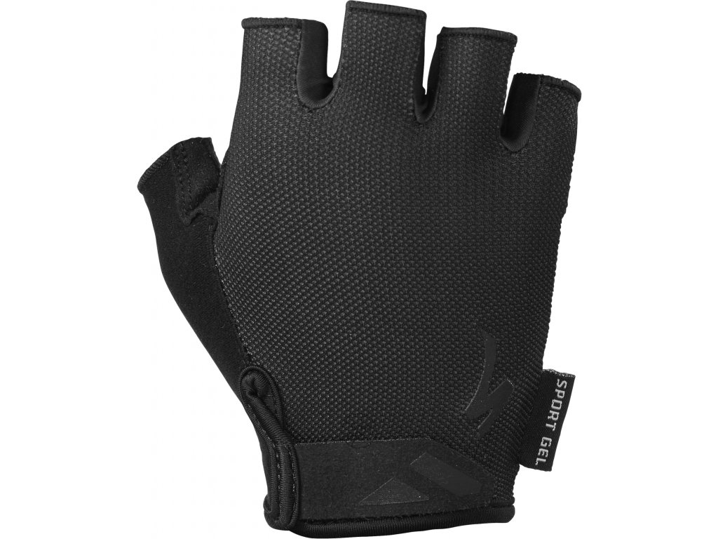 Dámské cyklistické rukavice Specialized Women's Body Geometry Sport černé
