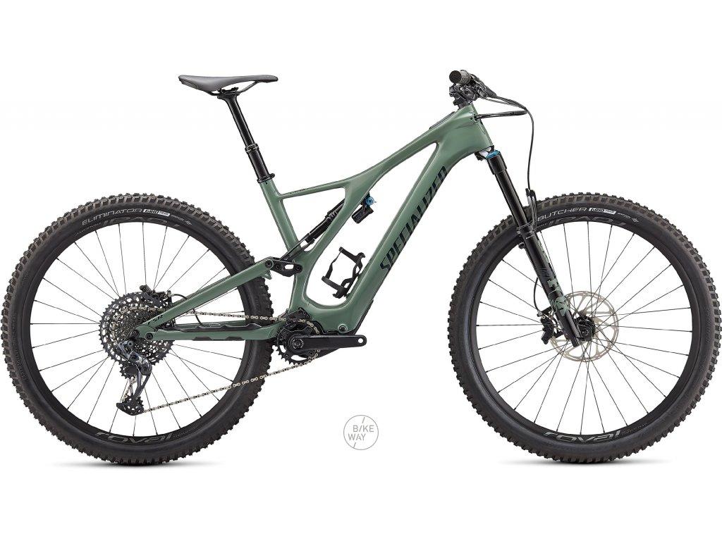 Celoodpružené elektrokolo Specialized Turbo Levo SL Expert Carbon 2021 sage green