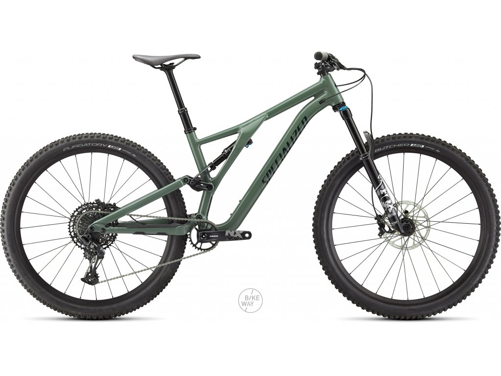 Celoodpružené kolo Specialized Stumpjumper Comp Alloy 2021 sage green