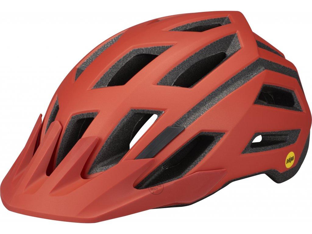 Cyklistická přilba Specialized TACTIC 3 MIPS Satin Redwood