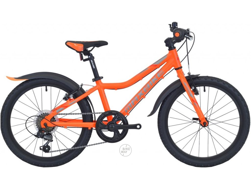 Dětské kolo Maxbike Junior MTB 20 2021 oranžová
