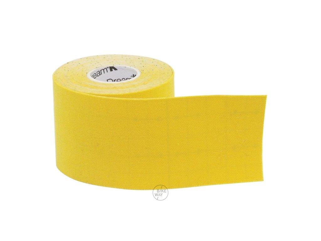 Páska tejpovací SIXTUS DREAM K TAPE žlutá