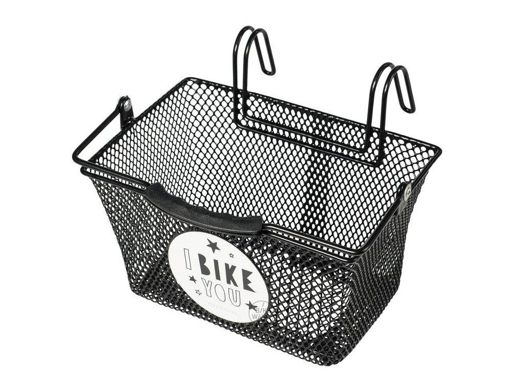 Dětský přední košík Basil Tivoli černý
