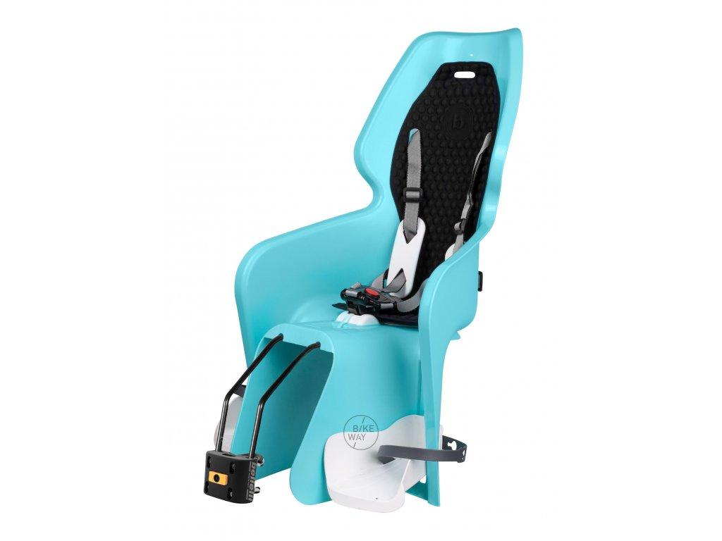 Dětská zadní cyklo sedačka Bellelli LOTUS STANDARD B FIX zadní modrá