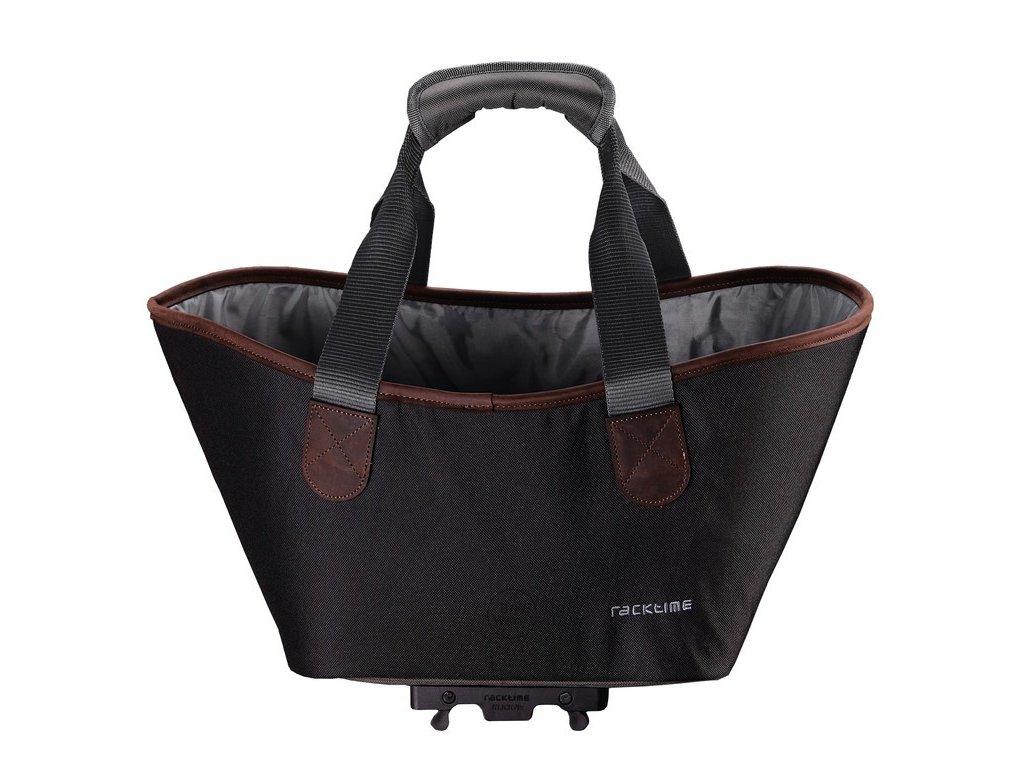 Cyklistická taška Racktime Agnetha černá - pouze pro zadní nosič Racktime