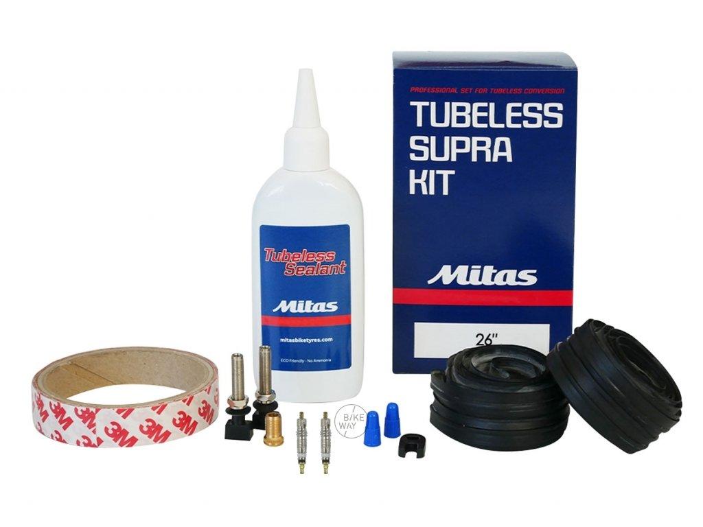 Lepení sada MITAS Tubeless Supra Kit 26 MTB box