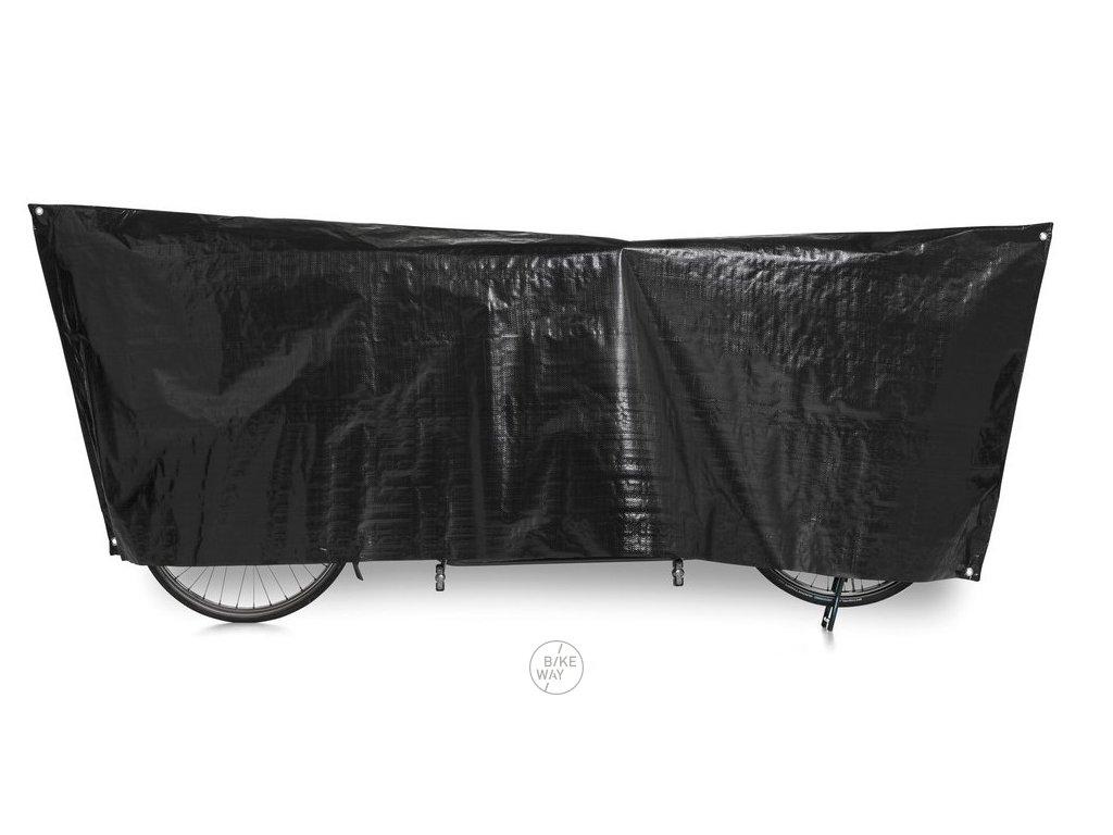 Obal na jízdní kolo VK Tandem 110 x 300cm černá