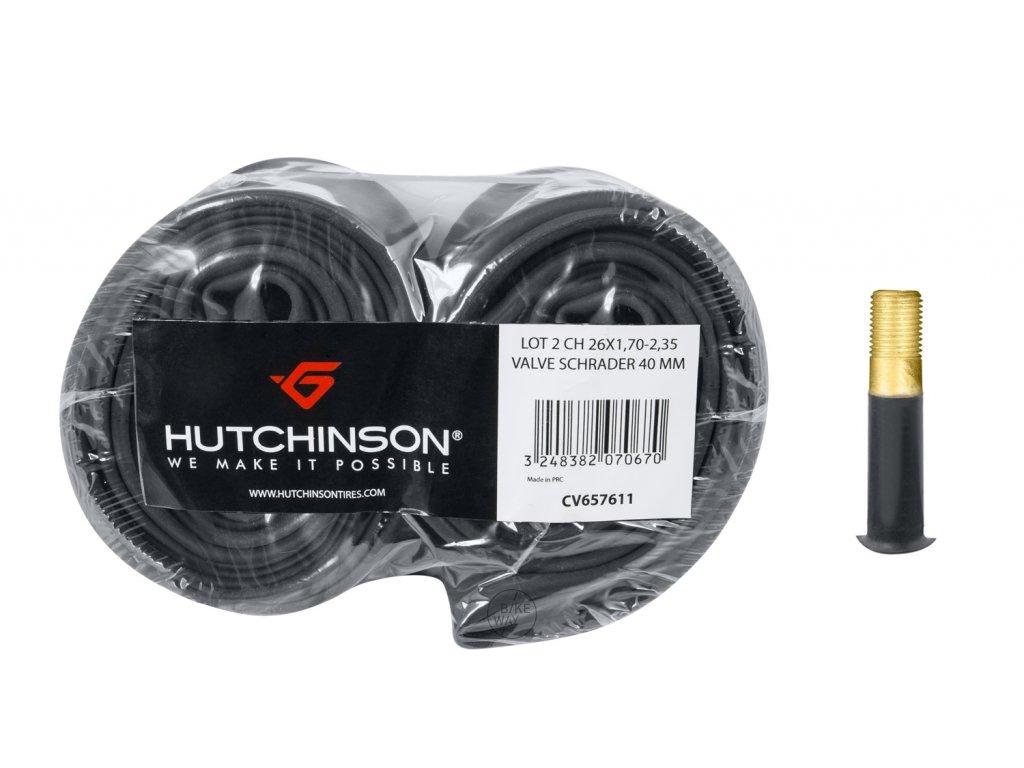 Duše HUTCHINSON 26x1,7 2,35 AV 40mm, 2ks