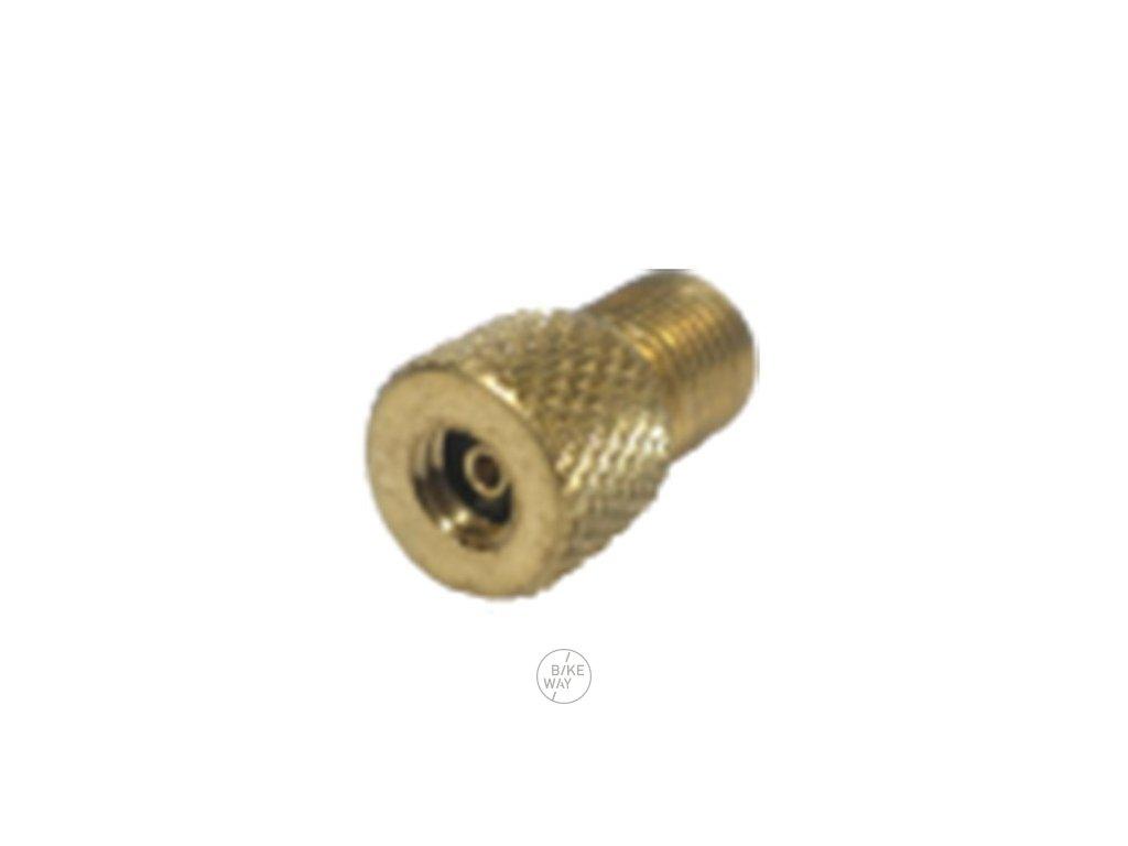 Redukce XLC adaptér ventilku z AV (pumpička) na velo ventilek 1 ks