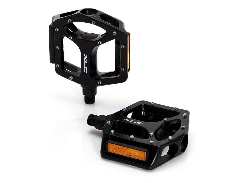 "Pedály XLC MTB/Trekking PD-M10 černá 1/2"" MALÝ závit"