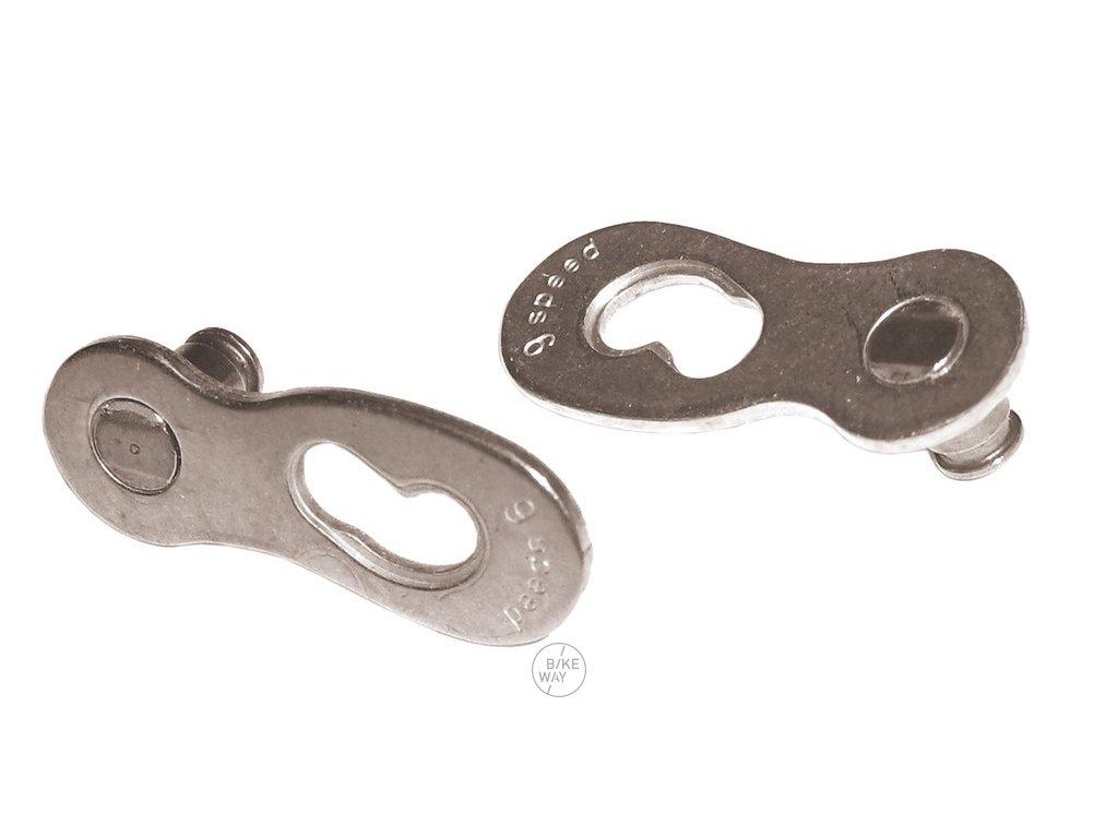 Spojka řetězu XLC CC X25 pro řetězy 11 st. stříbrná