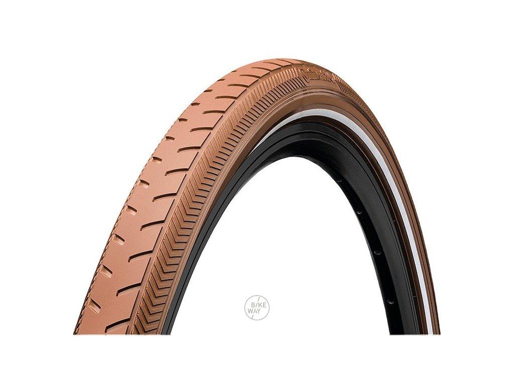 Plášť Continental Ride Classic drátový 28x1.60 42 622 hnědá Reflex