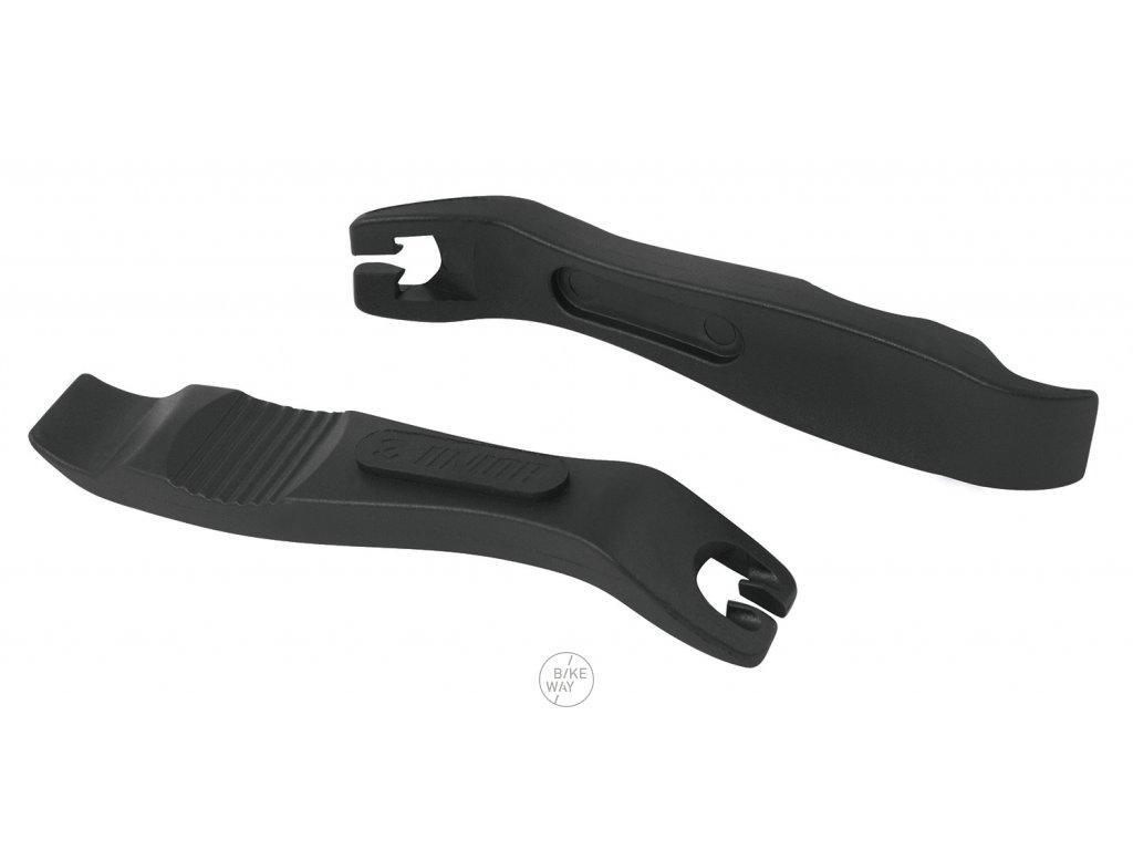 Montážní páčky UNIOR plastové sada 2ks, černé