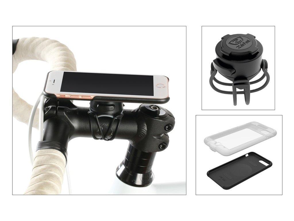Držák telefonu na kolo Zéfal Z Console full kit pro iPhone 7+