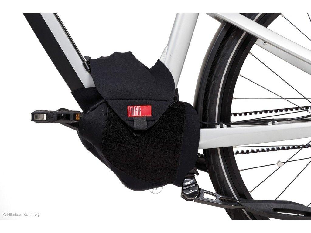 Ochranný neoprénový obal na středový motor elektrokola E Bike Fahrer Universal