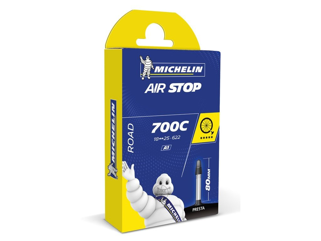 Duše Michelin A4 Airstop 28 29 48 62 622, AV 34 mm