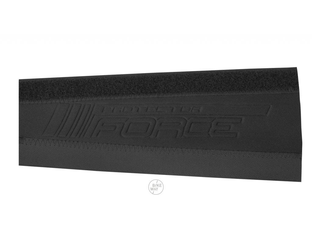 Neoprénový kryt pod řetěz FORCE 8cm černý