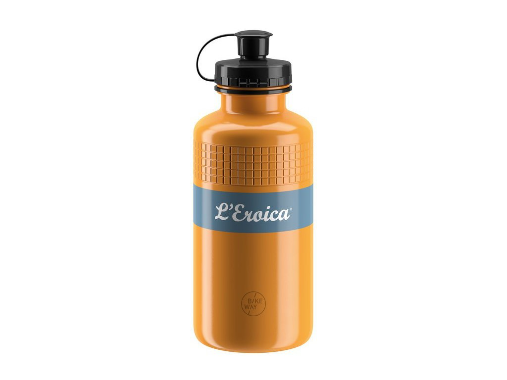 Cyklistická láhev Elite Eroica Vintage 500ml písková