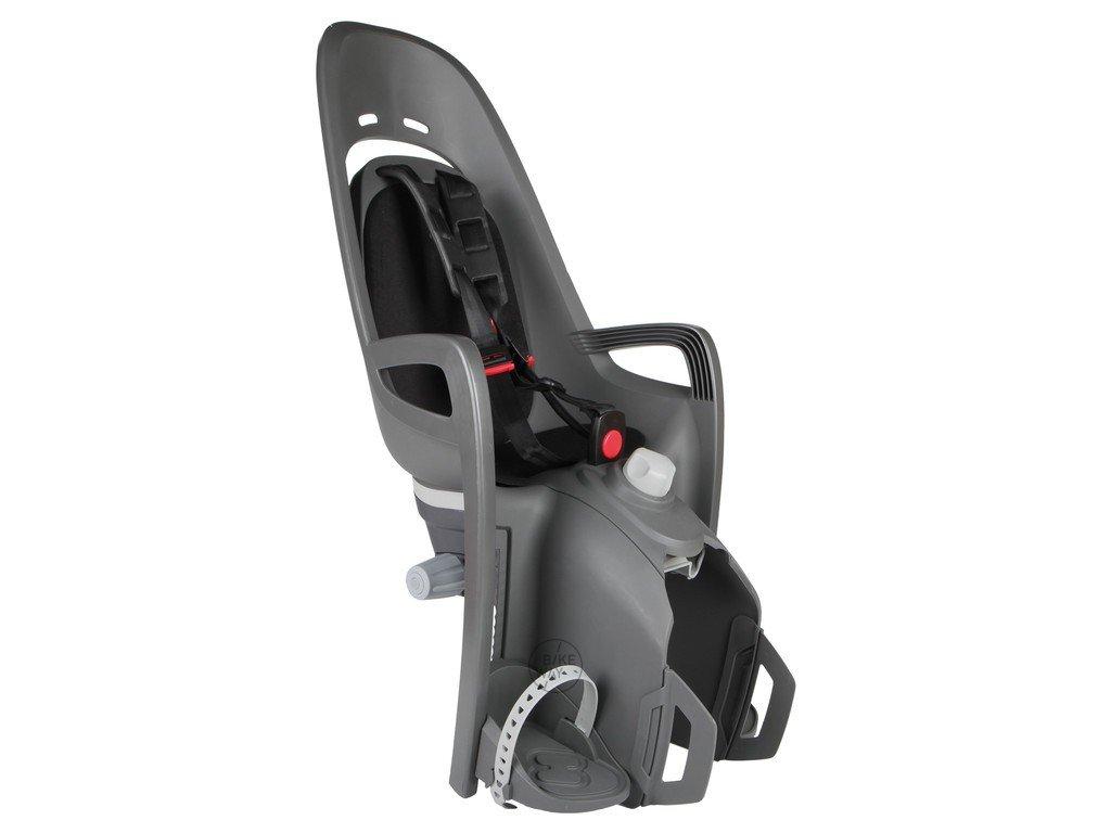 Dětská cyklo sedačka na zadní nosič Hamax Zenith Relax šedá černá