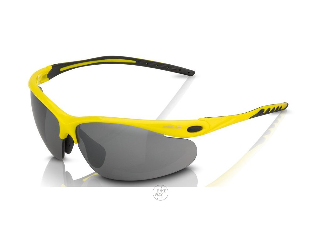 Cyklistické brýle XLC Palma SG C13 obroučky žlutá
