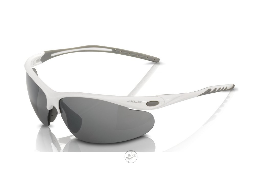 Cyklistické brýle XLC Palma SG C13 obroučky bílá