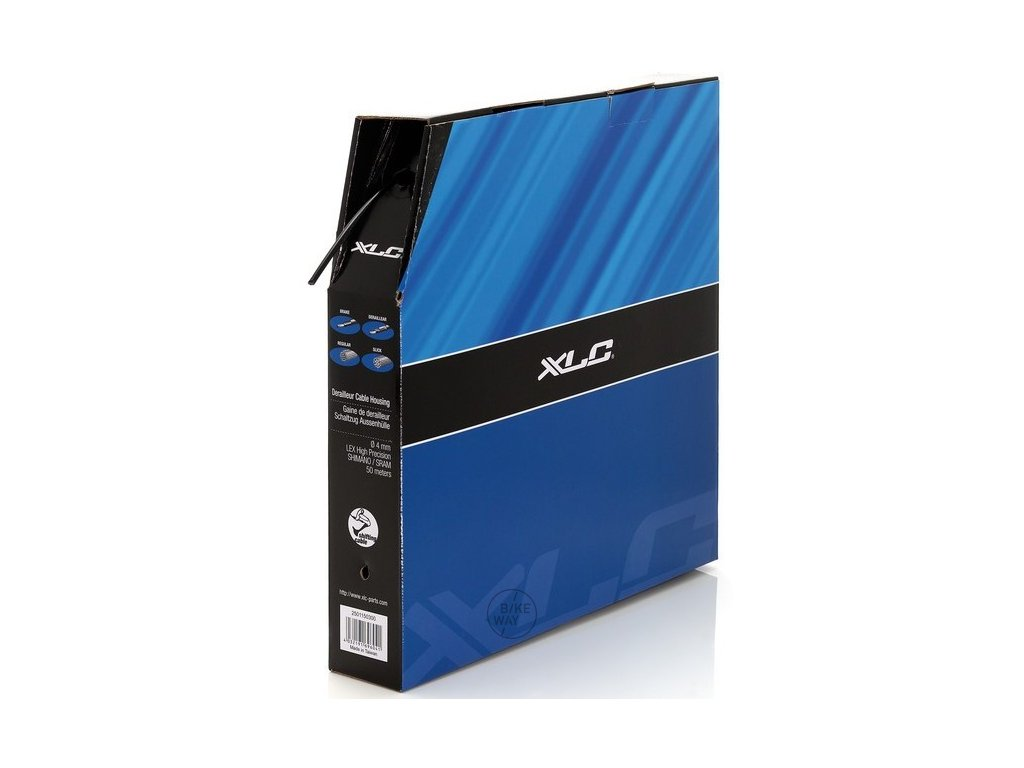 Řadící bovden XLC SH X03 černý 1 m