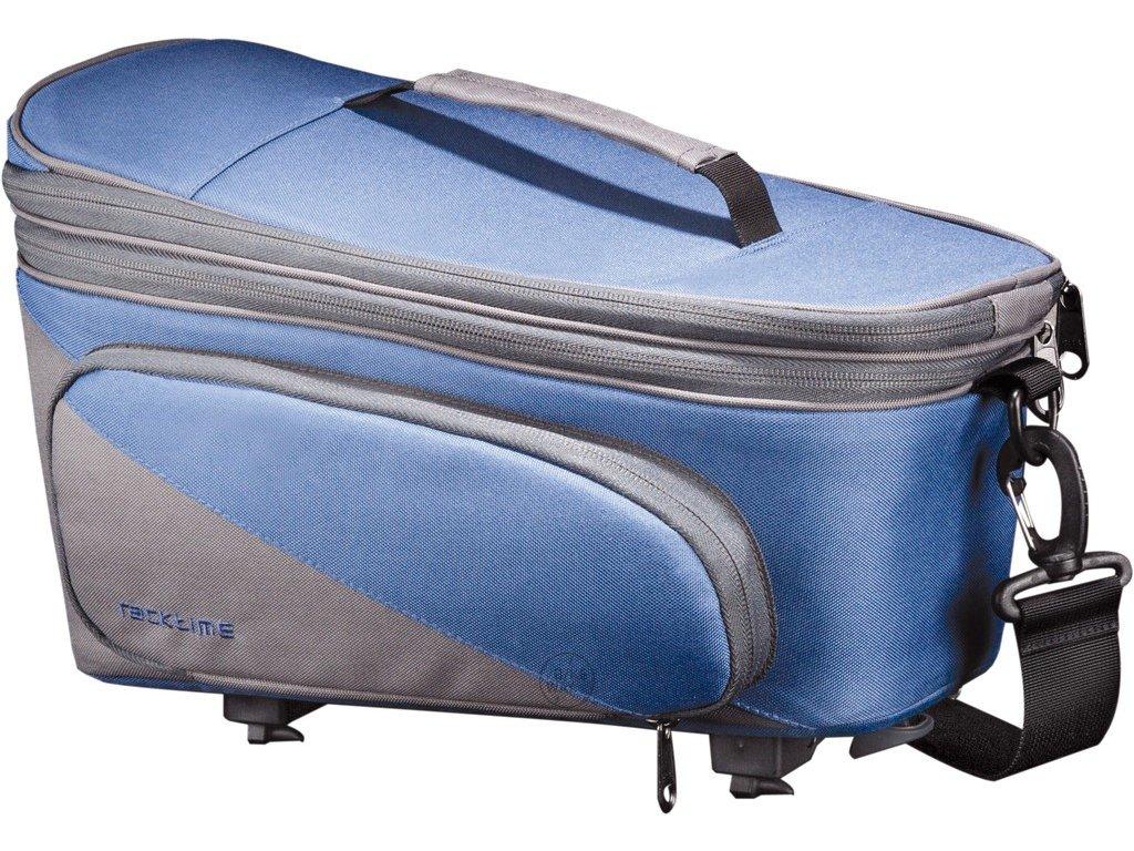 Systémová brašna na nosič Racktime Talis Plus modrá šedá, včetně Snapit adaptéru