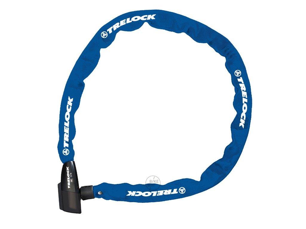 Řetězový zámek na kolo Trelock BC 115 modrá 60 cm 4mm