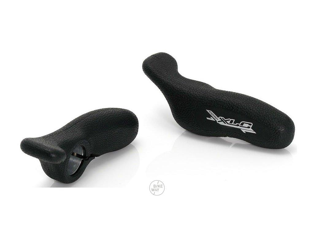 Rohy na řídítka XLC BE A08 černé ergonomické 125mm