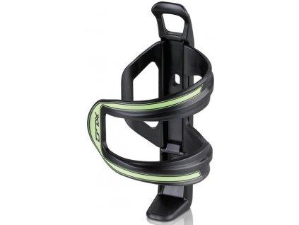 Boční držák na cyklo láhev XLC Sidecage černý zelený