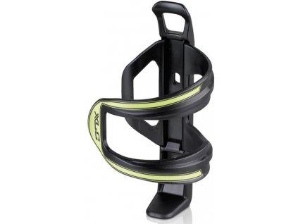 Boční držák na cyklo láhev XLC Sidecage černý lime