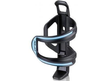 Boční držák na cyklo láhev XLC Sidecage černý modrý